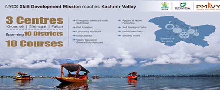 Kovida In Kashmir... Skilling India !!