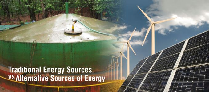 Traditional Energy Sources VS Alternative sources of energy