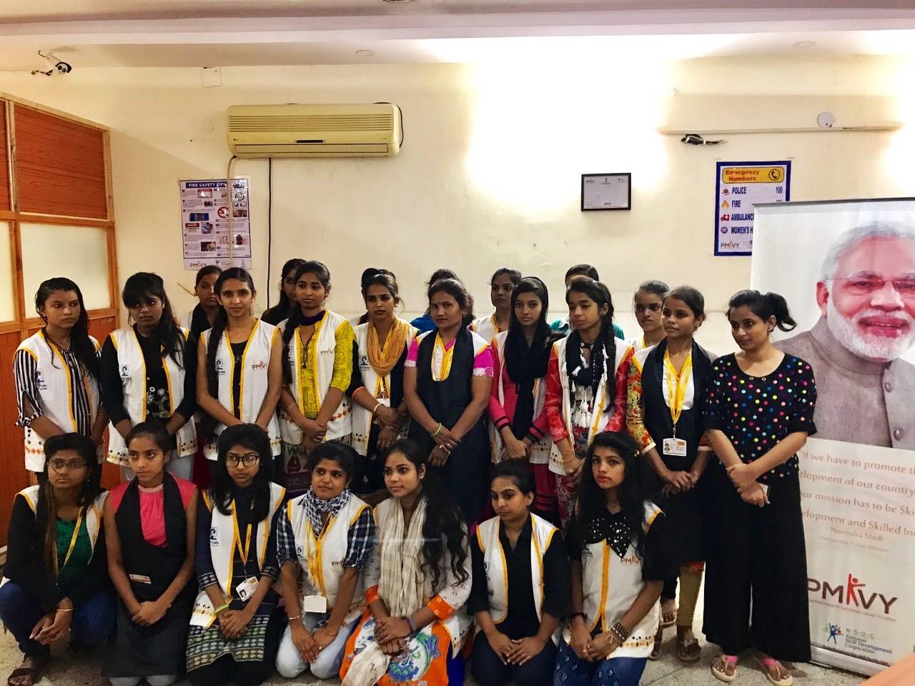 Assessment Conducted at KOVIDA Skill Development Center at Vikaspuri, New Delhi