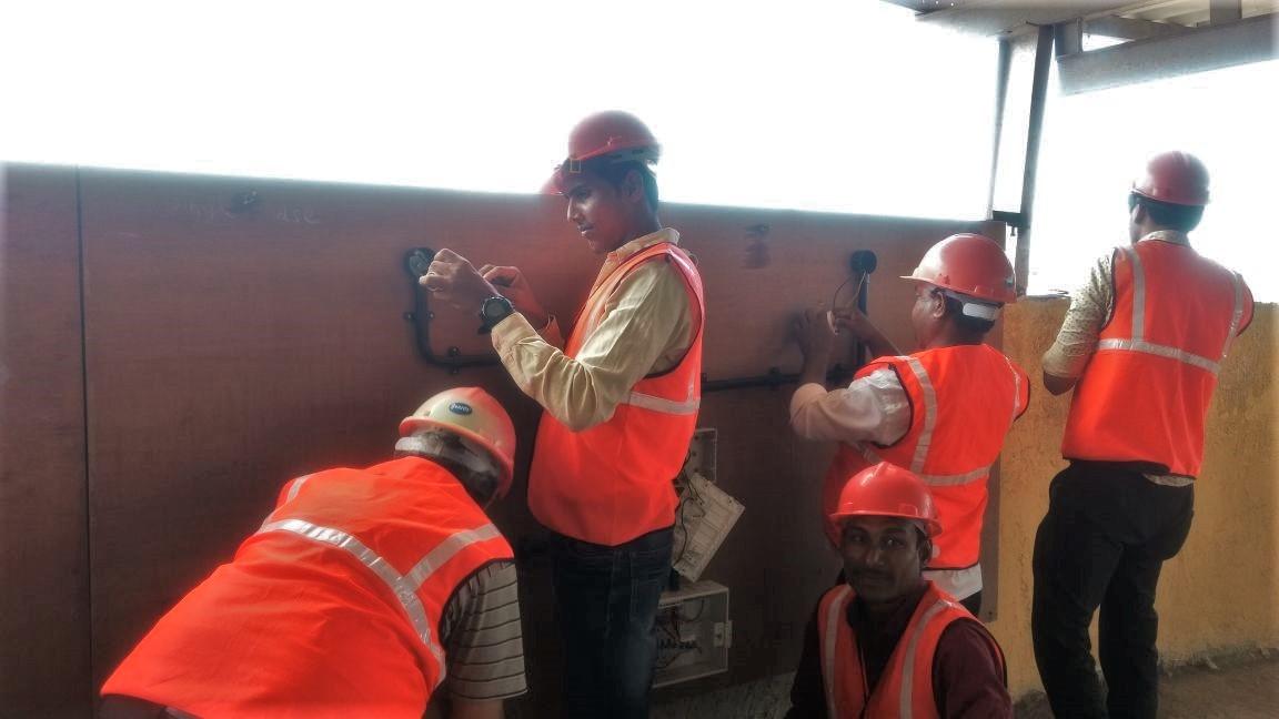 Assistant Electrician TOT program for Kaushalya Setu Abhiyan project.