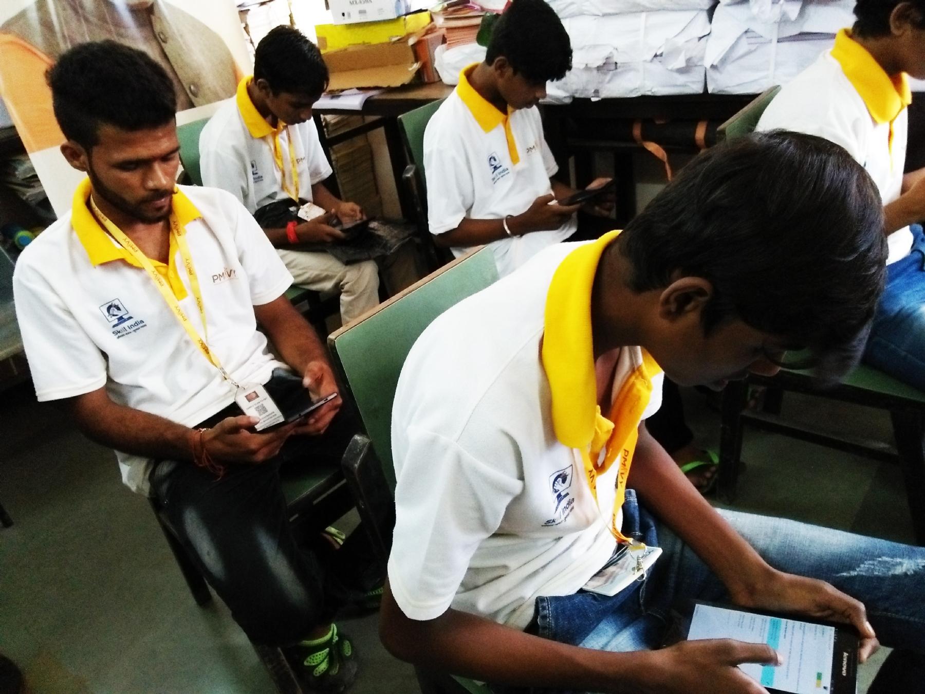 Assessment conducted under Kaushalya Setu Abhiyan at Tulsi Polytechnic College, Mumbai, Maharashtra on 13th September 2017.